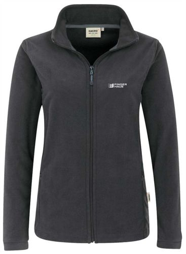 Damen-Fleecejacke anthrazit